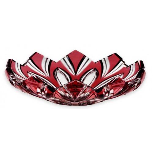 Talerz Lotos, kolor rubinowy, średnica 144 mm