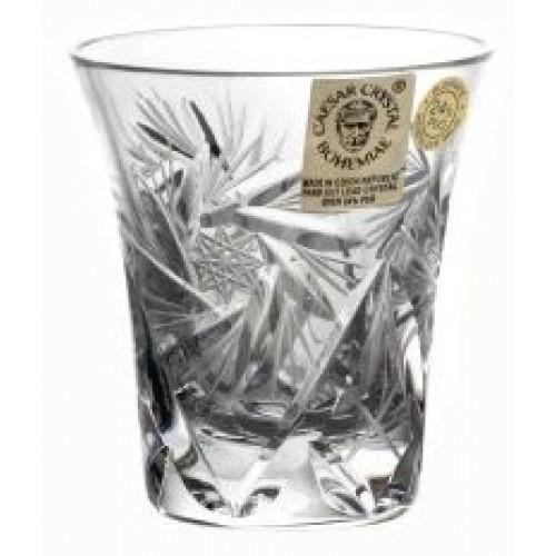 Likierówka Wiatraczek, szkło kryształowe bezbarwne, objętość 45 ml
