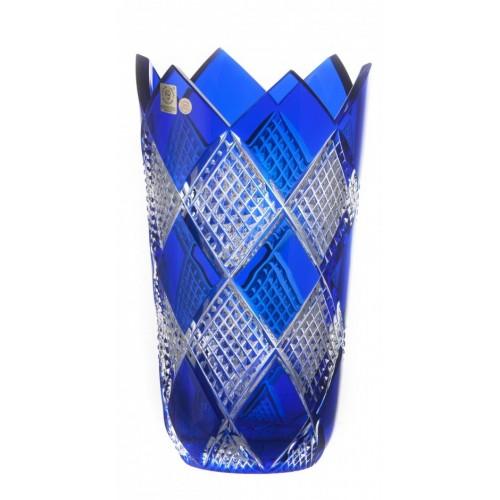 Wazon Kolumbina II, kolor niebieski, wysokość 255 mm