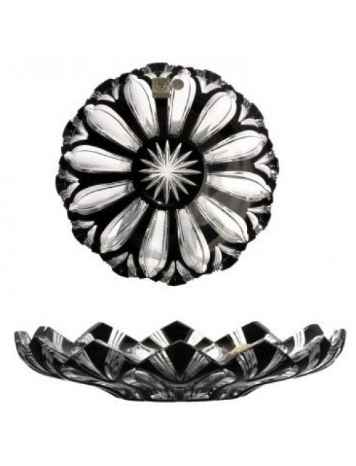 Talerz Lotos, kolor czarny, średnica 180 mm