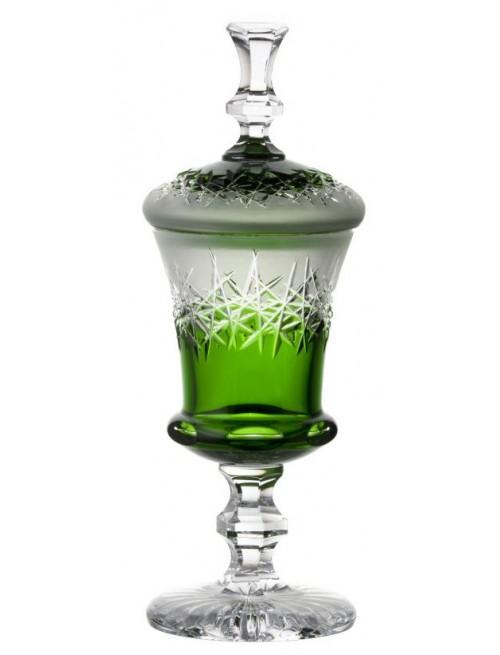 Puchar Szron, kolor zielony, wysokość 350 mm