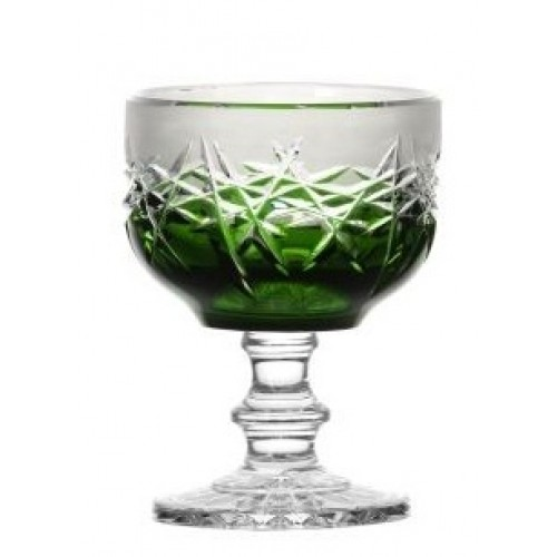 Patera Szron, kolor zielony, średnica 130 mm