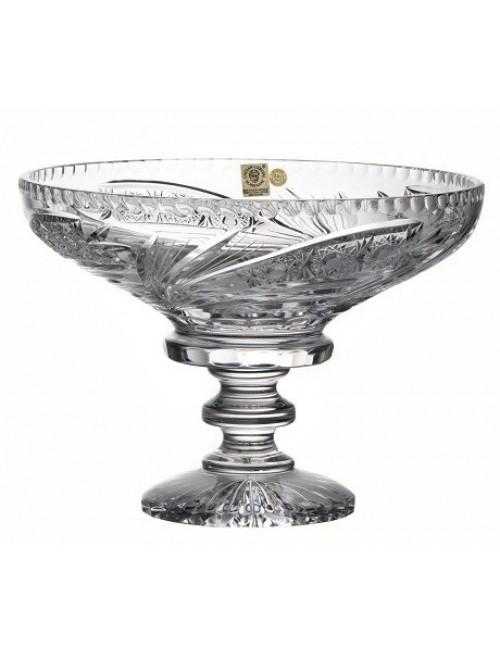 Patera Kometa, szkło kryształowe bezbarwne, średnica 250 mm