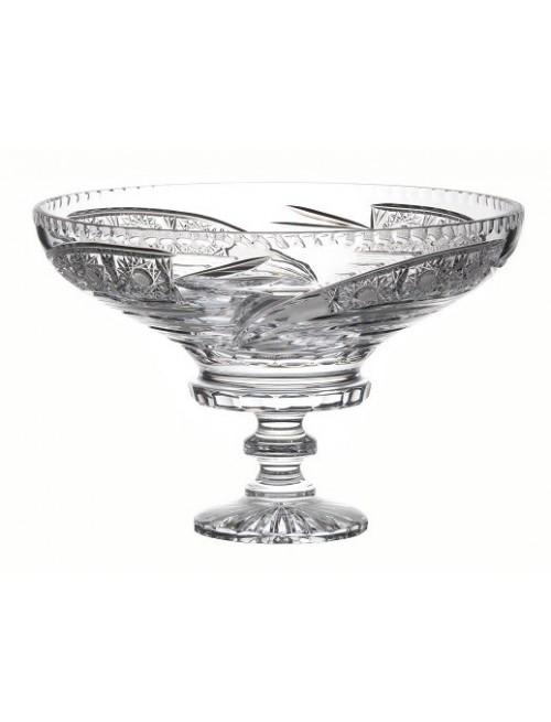 Patera Kometa, szkło kryształowe bezbarwne, średnica 355 mm