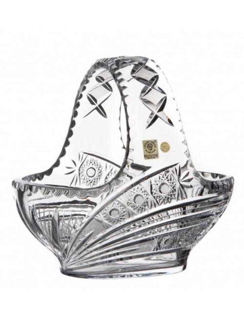 Kosz Kometa, szkło kryształowe bezbarwne, średnica 230 mm