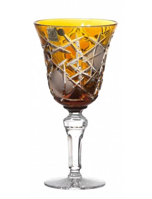 Kieliszek do wina Mars, kolor bursztynowy, objętość 240 ml