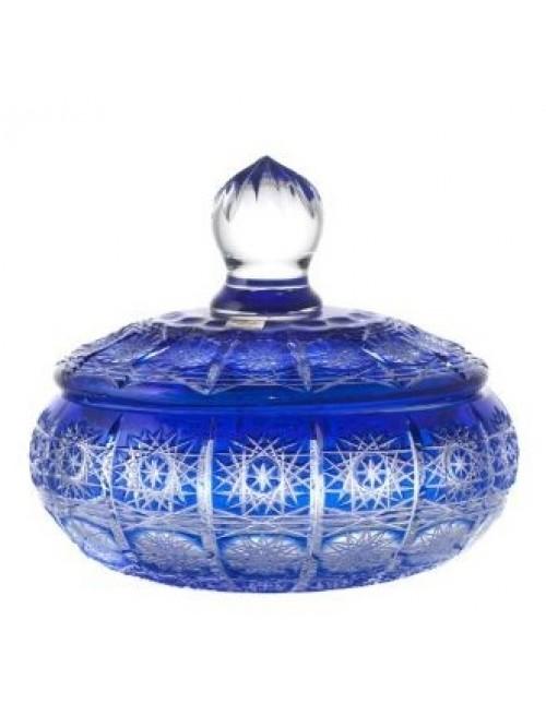 Bomboniera Paula, kolor niebieski, wysokość 195 mm