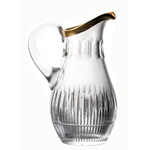 Dzbanek Cierń, szkło kryształowe bezbarwne, objętość 1500 ml