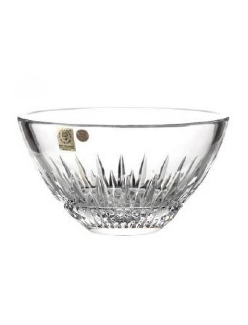 Półmisek Cierń kryształowy, szkło kryształowe bezbarwne, średnica 155 mm