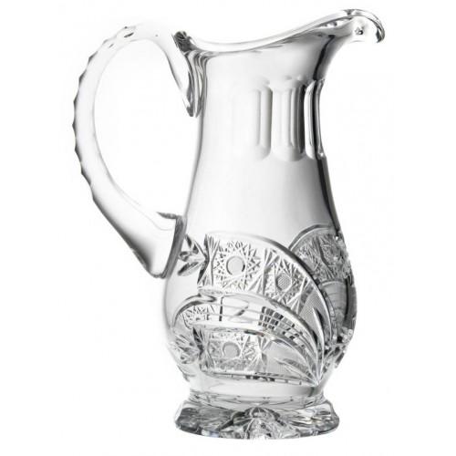 Dzbanek Kometa, szkło kryształowe bezbarwne, objętość 550 ml