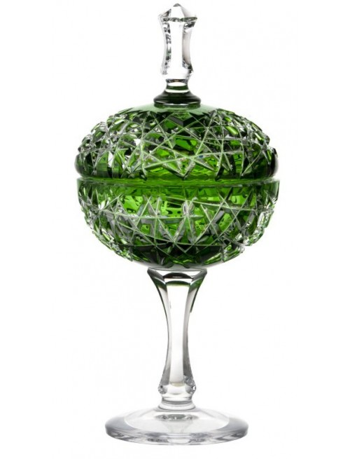 Puchar Tajga, kolor zielony, wysokość 315 mm