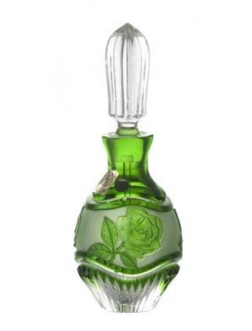 Flakon Róża + wałeczek, kolor zielony, objętość 130 ml