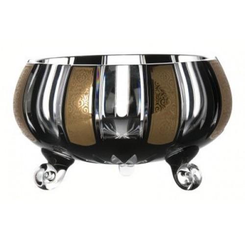 Półmisek Romance, kolor czarny, średnica 230 mm