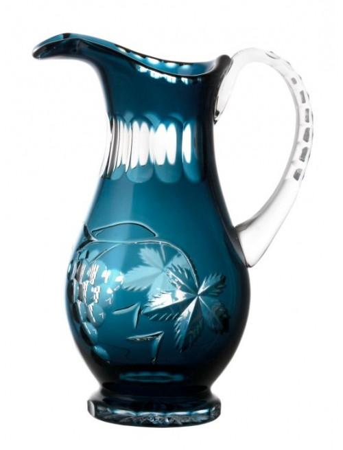Dzbanek Winorośl, kolor turkusowy, objętość 1300 ml