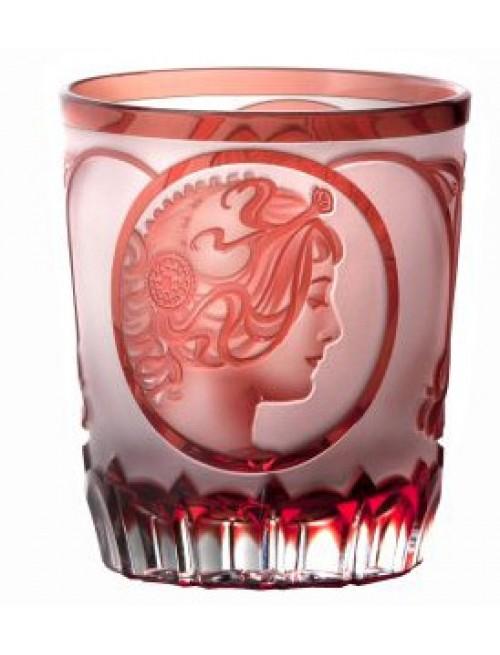Szklanka Mucha, kolor rubinowy, objętość 290 ml