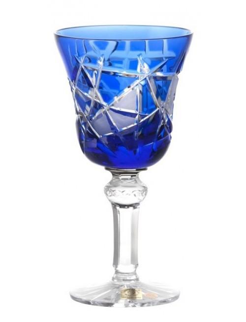 Kieliszek do wina Mars, kolor niebieski, objętość 180 ml