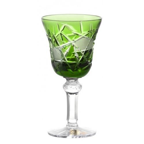 Kieliszek do wina Mars, kolor zielony, objętość 180 ml