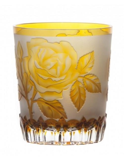 Szklanka Róża, kolor bursztynowy, objętość 290 ml
