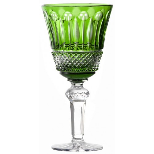 Kieliszek do wina Tomy, kolor zielony, objętość 240 ml