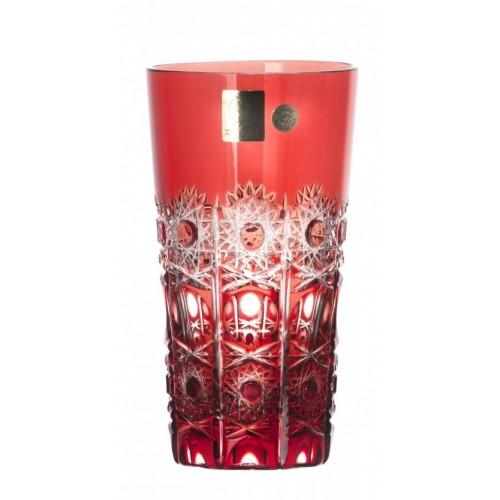 Szklanka Petra, kolor rubinowy, objętość 320 ml
