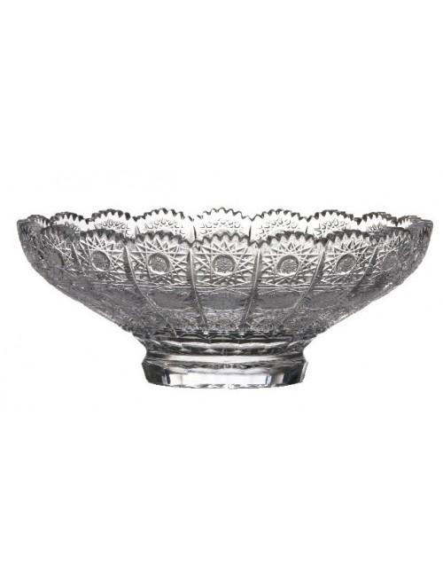 Półmisek 500PK, szkło kryształowe bezbarwne, średnica 250 mm