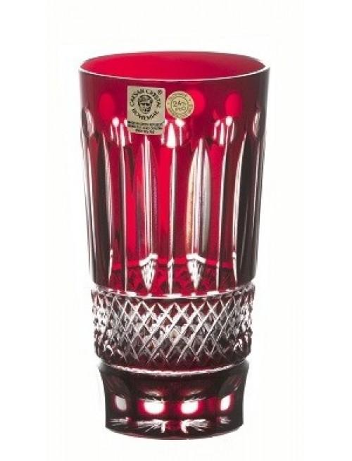 Szklanka Tom, kolor rubinowy, objętość 320 ml