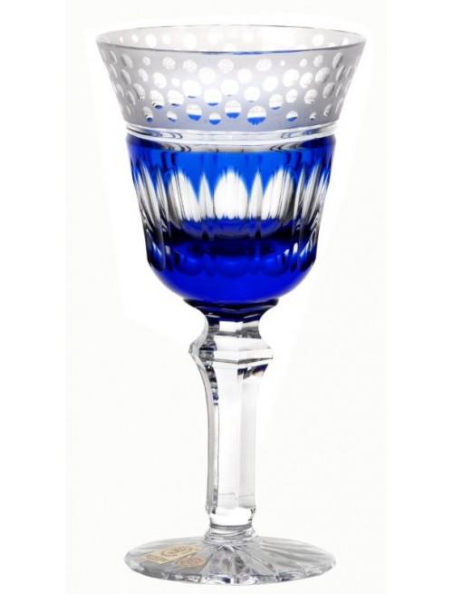 Kieliszek do wina Dalmatyńczyk, kolor niebieski, objętość 240 ml