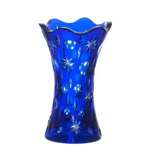 Wazon Lira, kolor niebieski, wysokość 155 mm