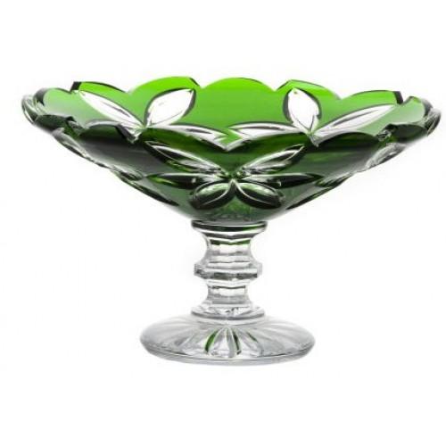 Patera Linda, kolor zielony, średnica 280 mm