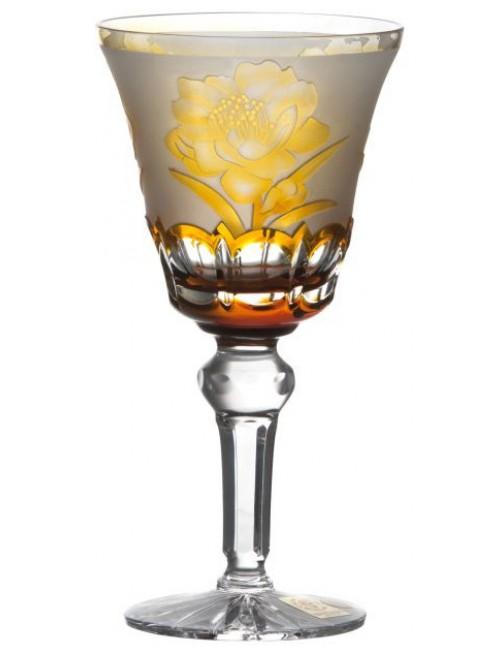 Kieliszek do wina Sakura, kolor bursztynowy, objętość 180 ml