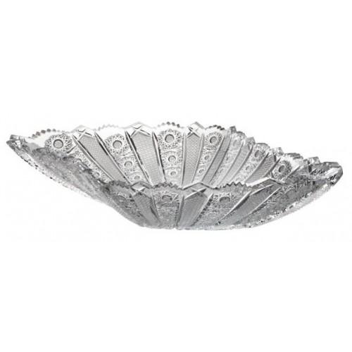 Półmisek Irys, szkło kryształowe bezbarwne, średnica 455 mm