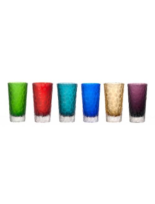 Zestaw kieliszków, różne kolory, objętość 320 ml