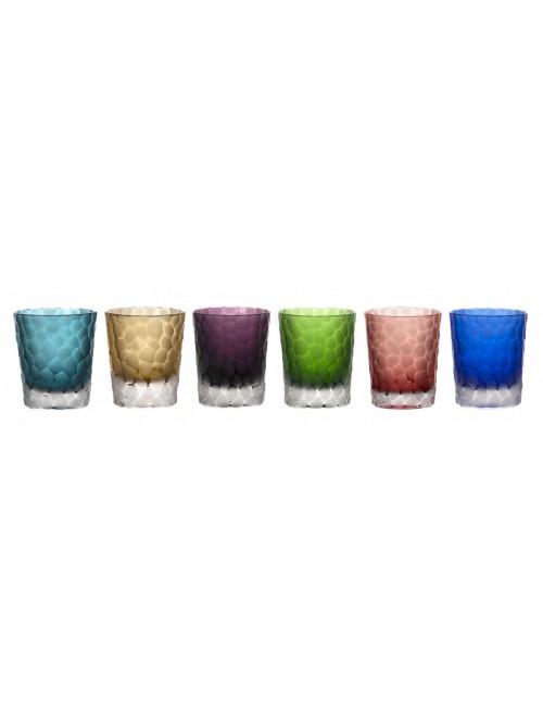 Zestaw kieliszków, różne kolory, objętość 290 ml