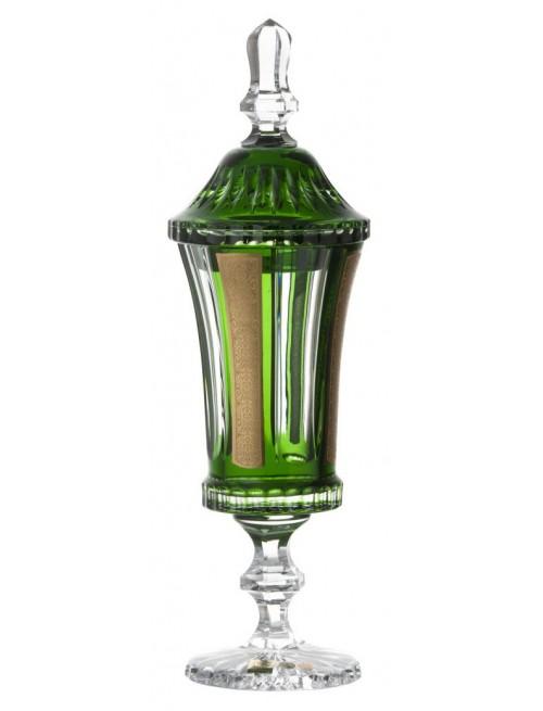 Puchar Romance, kolor zielony, wysokość 390 mm