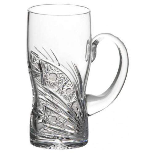 Szklanka Kometa, szkło kryształowe bezbarwne, objętość 500 ml