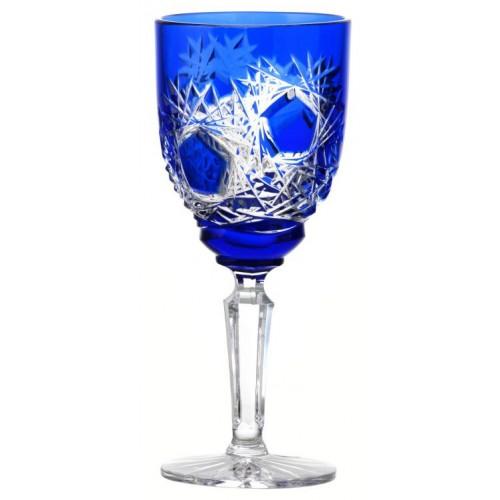 Kieliszek do wina Mróz, kolor niebieski, objętość 150 ml