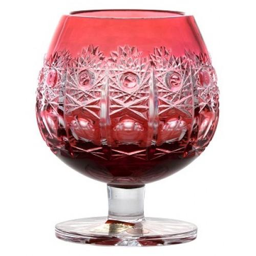 Kieliszek do wina Brandy Petra, kolor rubinowy, objętość 230 ml