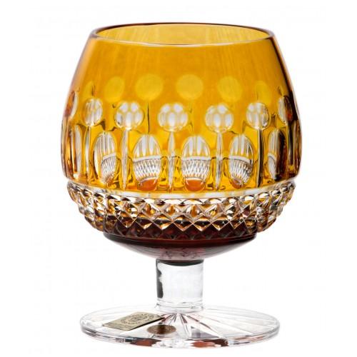 Kieliszek do Brandy Tomy, kolor bursztynowy, objętość 230 ml