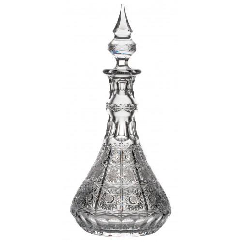 Butelka 500PK, szkło kryształowe bezbarwne, objętość 1300 ml