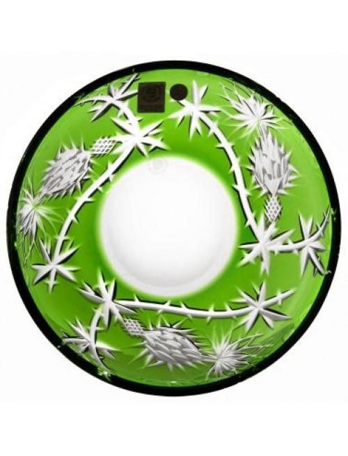 Talerz Oset, kolor zielony, średnica 181 mm