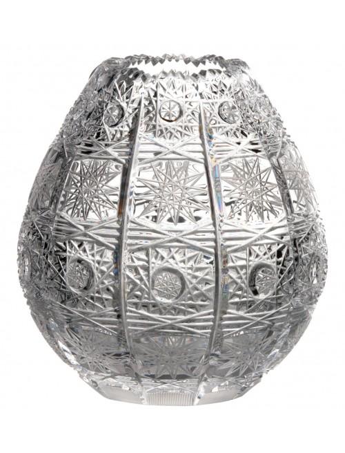 Wazon 500PK, szkło kryształowe bezbarwne, wysokość 135 mm