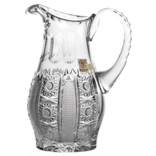 Dzbanek Iris, szkło kryształowe bezbarwne, objętość 600 ml