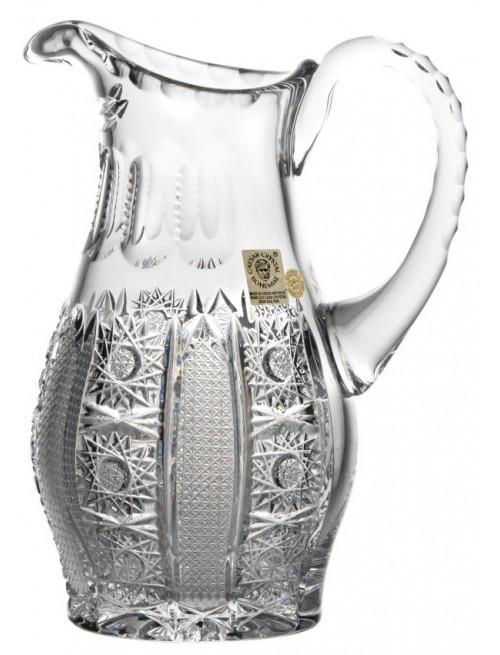 Dzbanek Iris, szkło kryształowe bezbarwne, objętość 900 ml