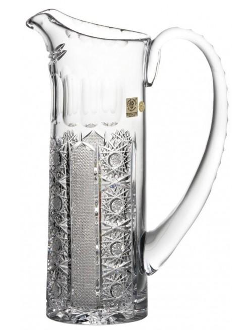 Dzbanek Iris, szkło kryształowe bezbarwne, objętość 950 ml