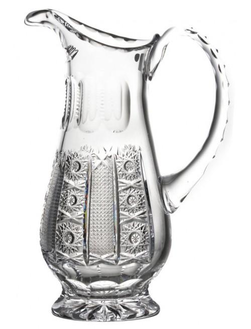 Dzbanek Iris, szkło kryształowe bezbarwne, objętość 550 ml