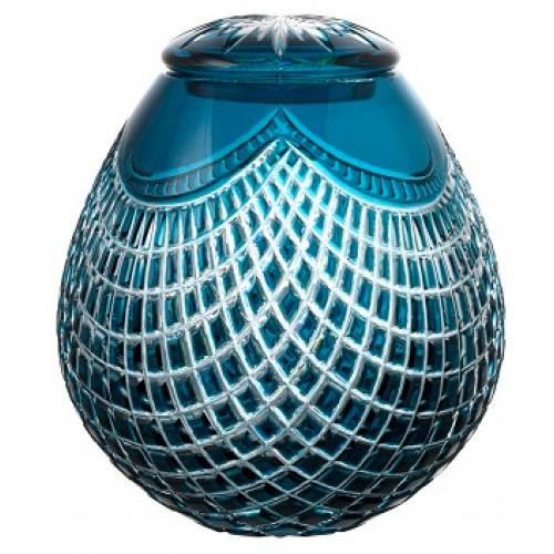 Urna Quadrus, kolor turkusowy, wielkość 230 mm