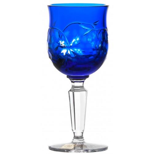 Kieliszek do wina Winogrona, kolor niebieski, objętość 140 ml