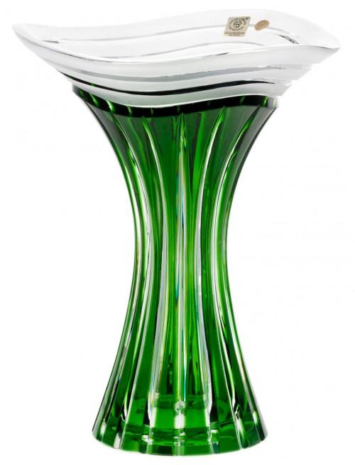 Wazon Dune, kolor zielony, wysokość 250 mm