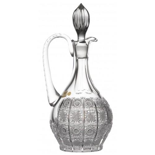 Karafka 500PK, szkło kryształowe bezbarwne, objętość 1250 ml