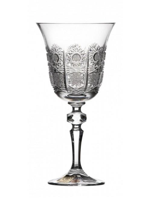Kieliszek do wina Laura, szkło kryształowe bezbarwne, objętość 220 ml